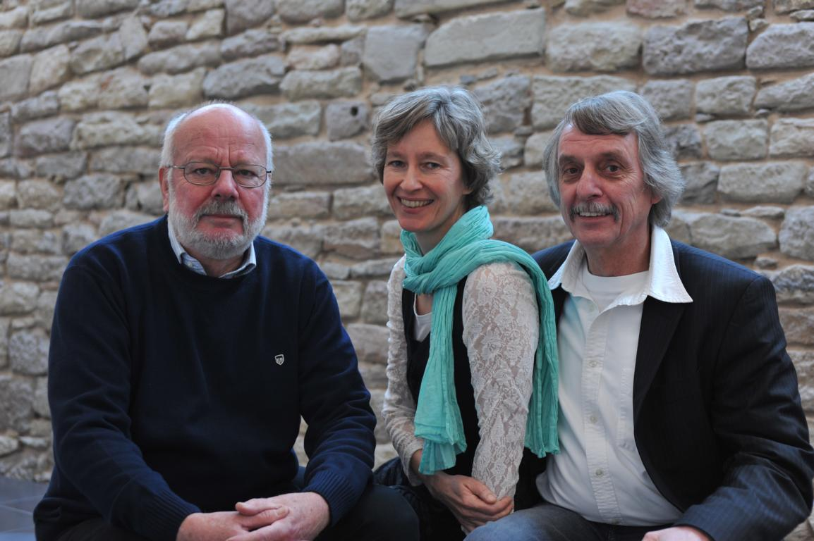 liTrio: Hanns Peter Zwißler, Ulrike Schäfer und Martin Heberlein. Foto: Matthias Lauerbach.
