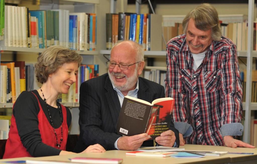 liTrio: Ulrike Schäfer, Hanns Peter Zwißler, Martin Heberlein. Foto: Matthias Lauerbach.