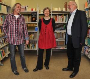 liTrio - Martin Heberlein, Ulrike Schäfer und Hanns Peter Zwißler. Foto: Matthias Lauerbach.